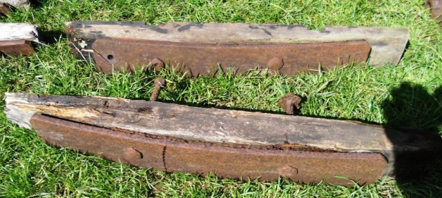 The recovered components of Long waggon No2 (2)